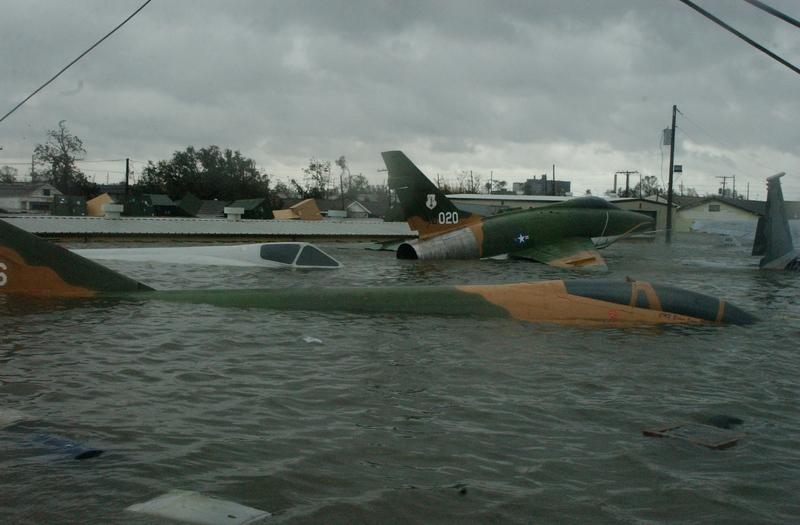 Museum Air Park, Hurricane Katrina