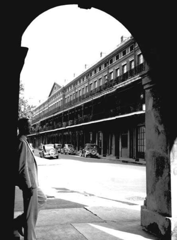 Upper Pontalba Building, 1937.