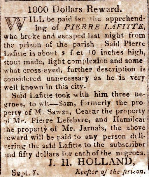 Le Courrier de la Louisiane, Sept. 7, 1814