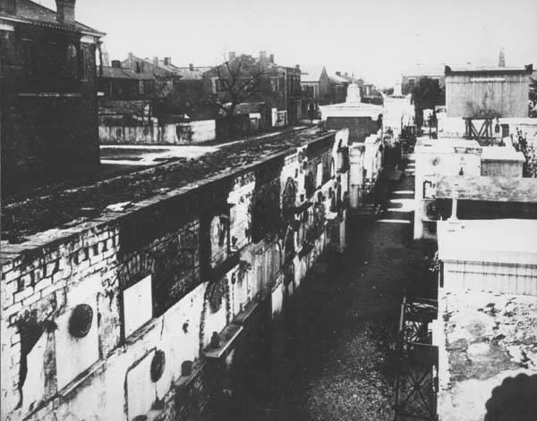 Girod Cemetery, circa early 1900s
