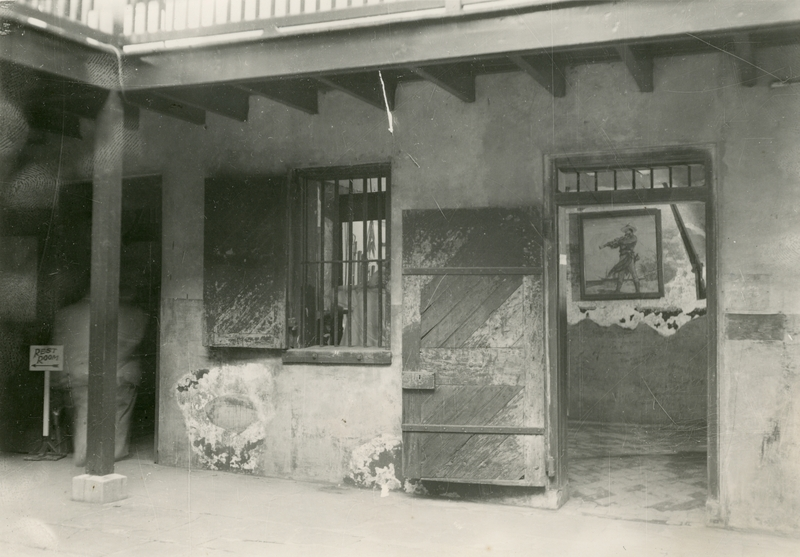 Lafitte Cell, in the Courtyard of the Cabildo, 1950.