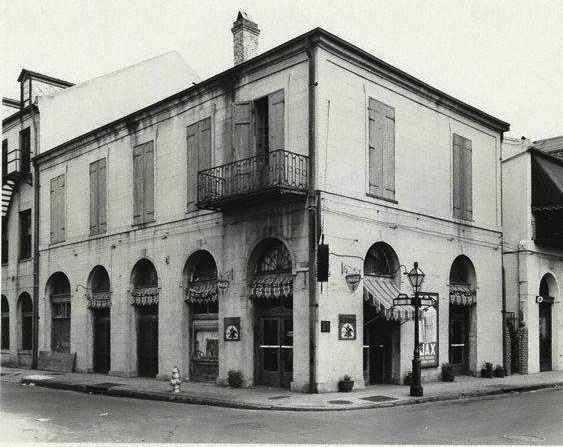 Maspero's Coffee Exchange, early 1900s