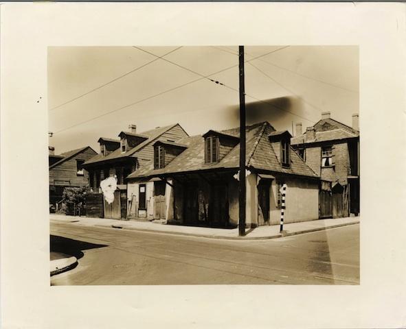 Lafitte's Blacksmith Shop, 1939