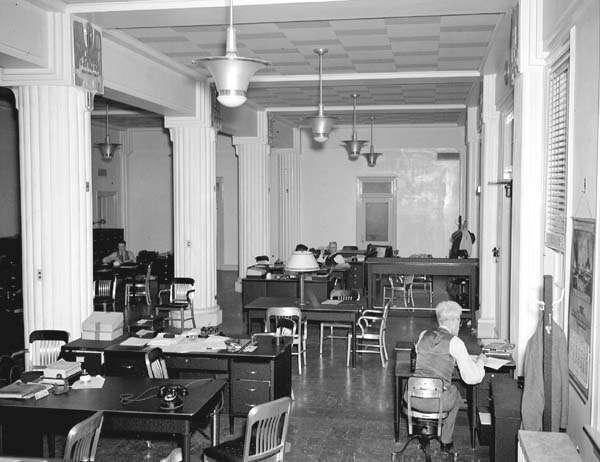 Jackson Barracks, January 20, 1937