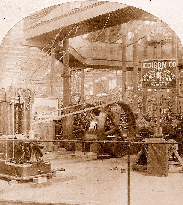Edison Electric Light Exhibit