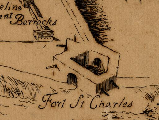 Detail, Nouvelle Orleans 1802
