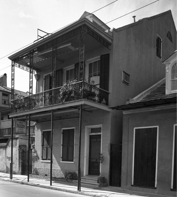 1014 Dumaine Street, 1964