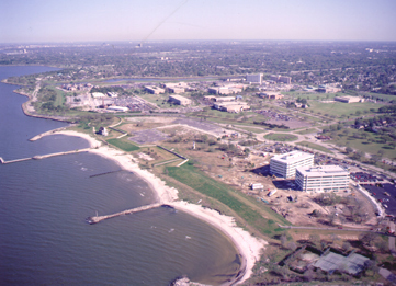 Construction of the University of New Orleans Research and Technology Park