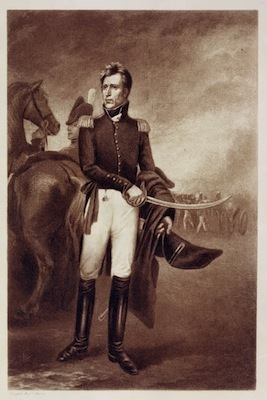 General Andrew Jackson after the Battle of New Orleans