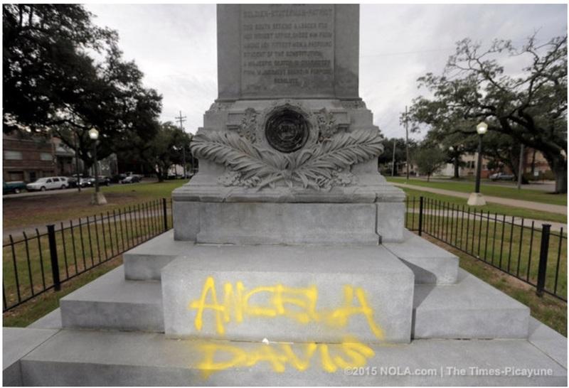 Angela Davis Graffiti