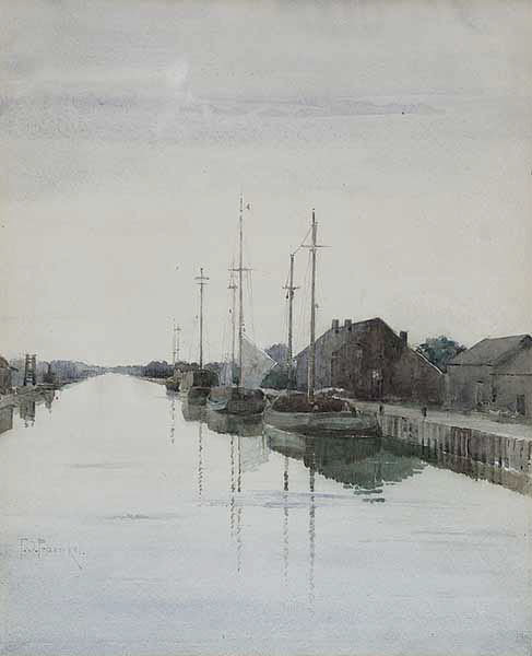New Basin Canal, 1900