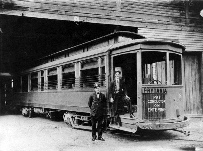 Prytania Streetcar 1907