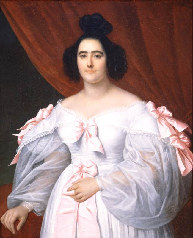 Baroness de Pontalba (n�©e Micaela Leon Arda Antonia Almonester), Unknown artist, ca. 1835, Oil on canvas