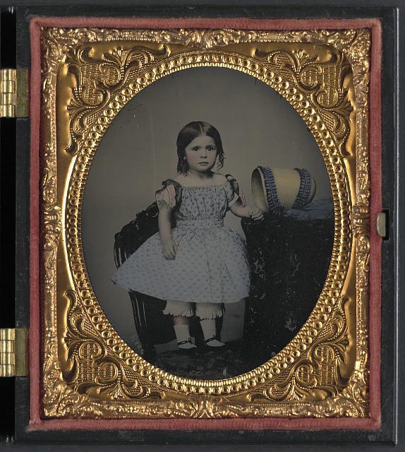 """""""Dora Allison, Little Miss Bonnie Blue, the light of the Confederacy"""""""