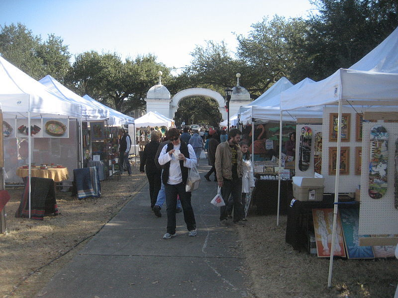 Arts Market in Palmer Park.&lt;br /&gt;<br />