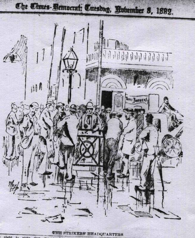 Strike Headquarters: Three Brothers' Saloon