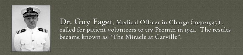Dr. Guy Faget. &lt;br /&gt;<br /> &lt;br /&gt;<br /> Image Courtesy of the National Hansen&#039;s Disease Museum, Permanent Collection. Carville, LA.