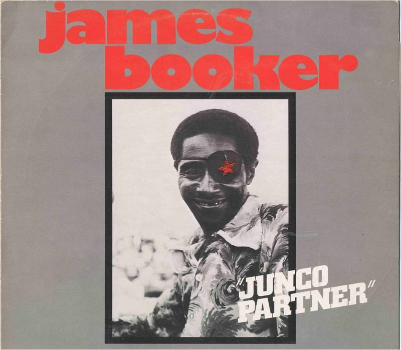 """LP cover, """"Junco Partner"""" by James Booker"""