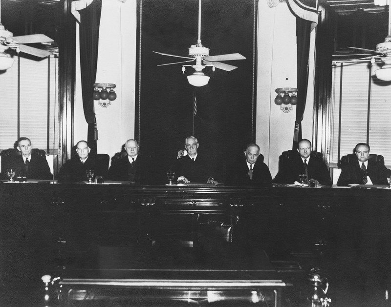 The Louisiana Supreme Court in 1922 at the 400 Royal Street building.