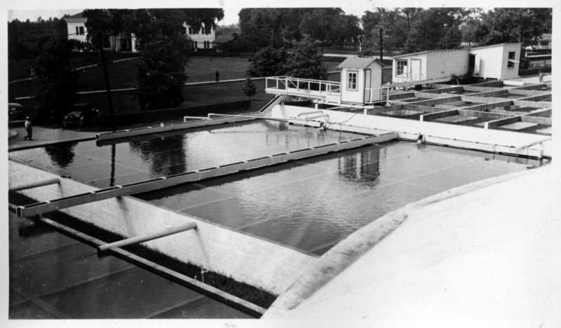 Water Treatment Plant, National Leprosarium, Carville, Louisiana. Image Courtesy of the National Hansen's Disease Museum, Permanent Collection. Carville, LA.
