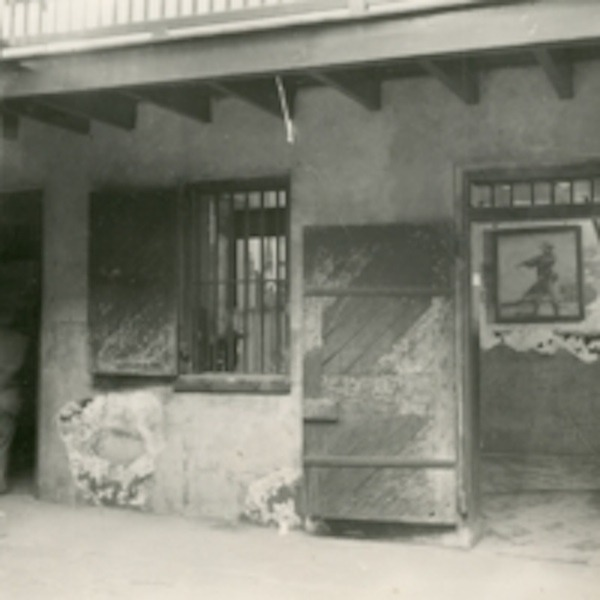 Lafitte Cell: in the Courtyard of the Cabildo, 1950