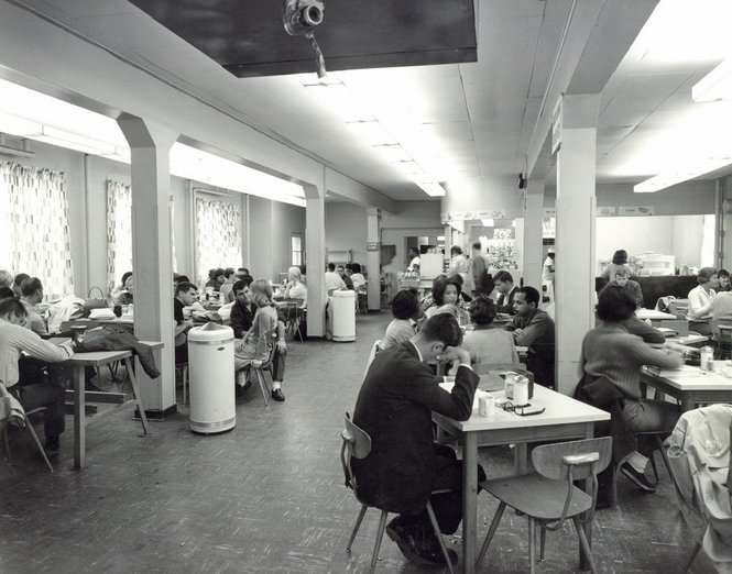Cafeteria Integrated, 1961