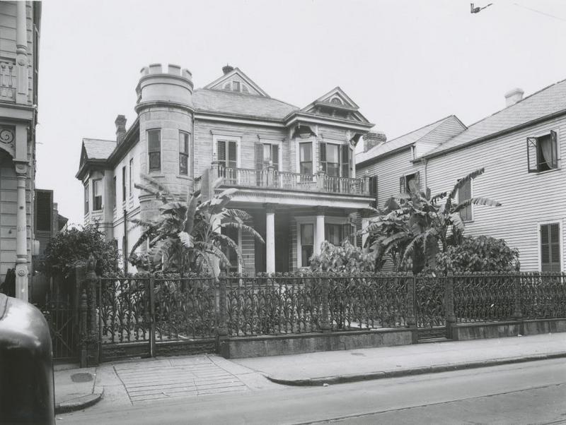 Cornstalk Fence House