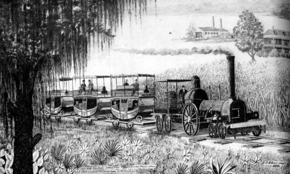 Early Pontchartrain Steam Engine
