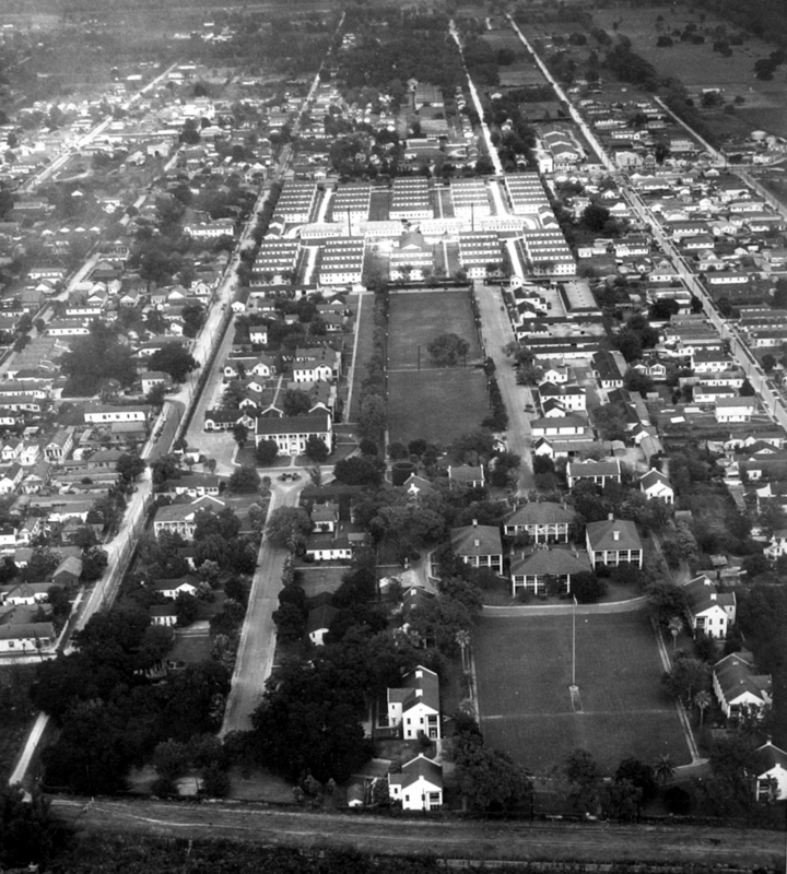 Jackson Barracks, 1949