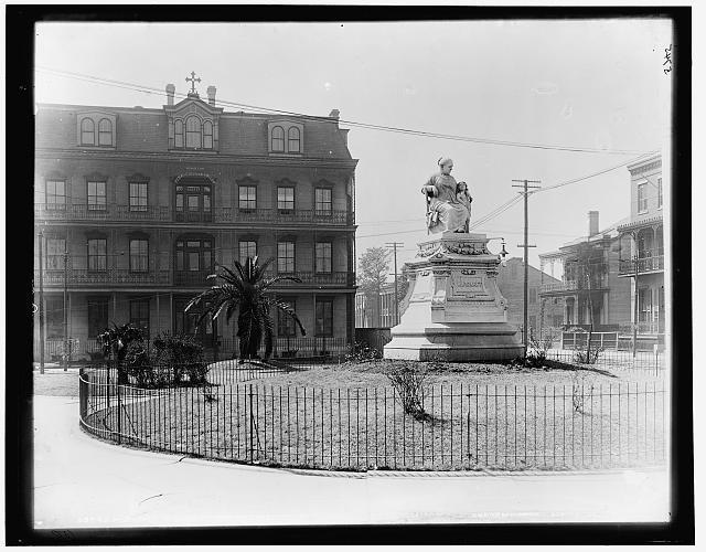 Statue of Margaret  c. 1890