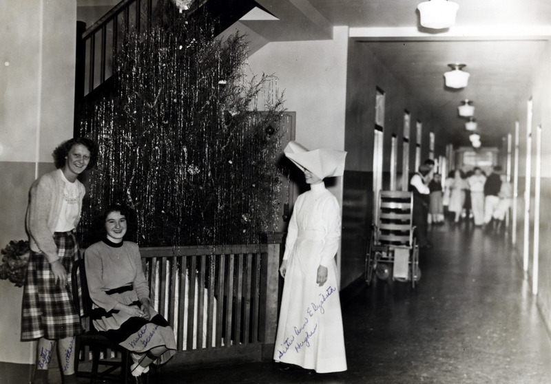 Christmas in the Infirmary, National Leprosarium, Carville, LA. 1930s.&lt;br /&gt;<br />