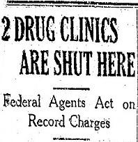 2 Drug Clinics Are Shut Here