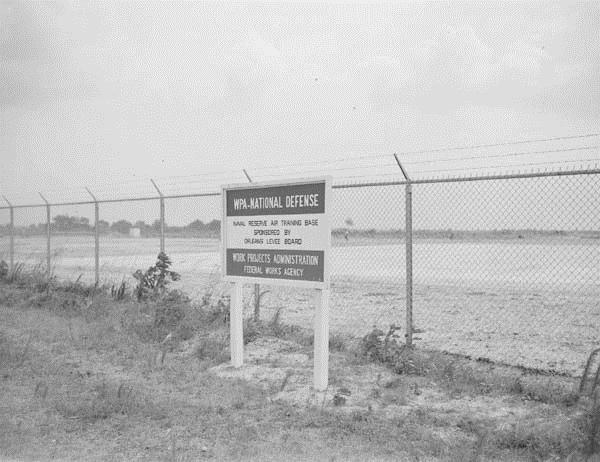 Naval Air Base boundary, May 1941
