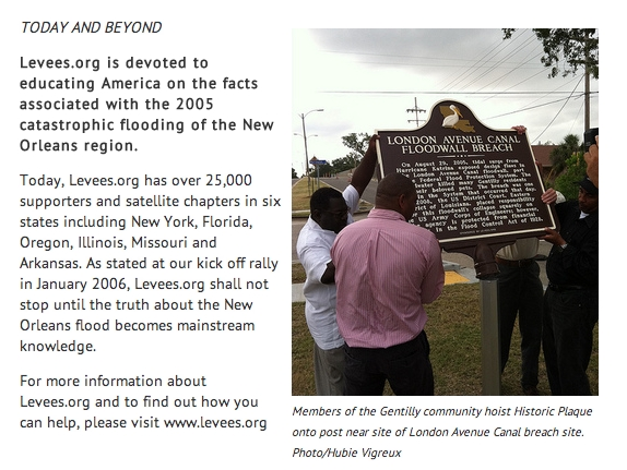 More about Levees.org