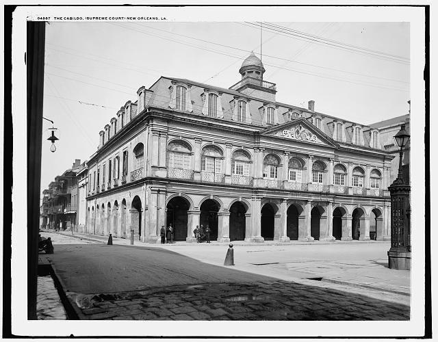 Cabildo, 1900