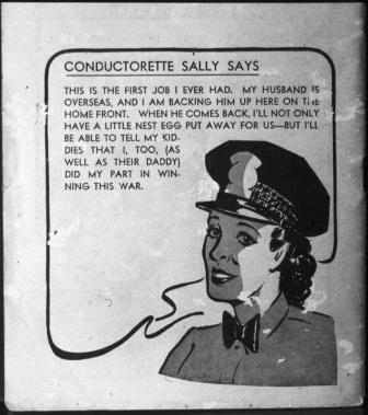 Conductorette Sally