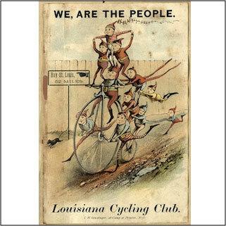 Flyer advertising an excursion to Bay St. Louis circa 1890.