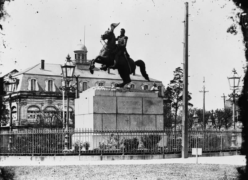 Andrew Jackson Monument, circa 1900