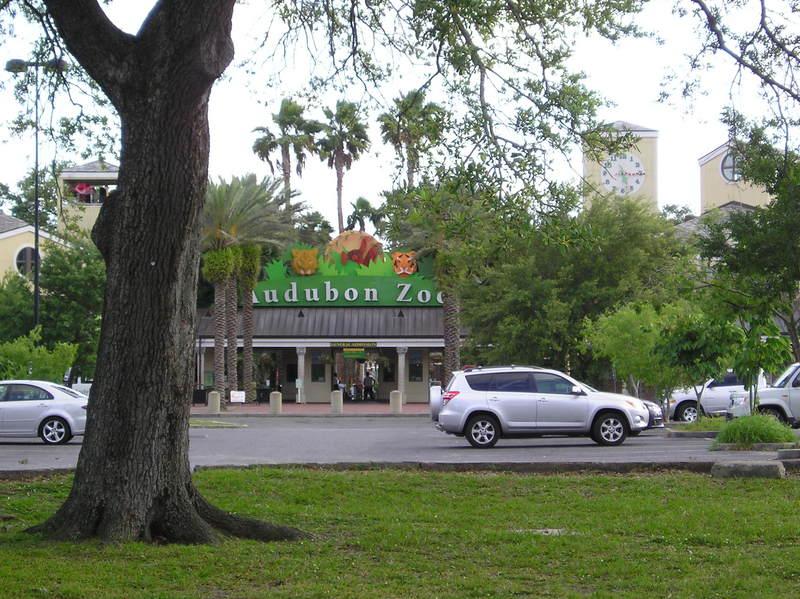 Entrance to Audubon Zoo