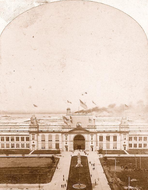 Main building of the Cotton Centennial Exposition