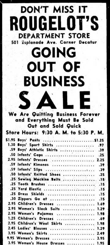 One of the Final Advertisements