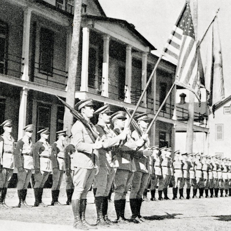 Members of the 108th Cavalry