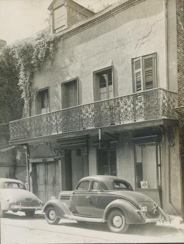 722 Toulouse Street, ca. 1930s