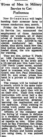 Picayune Article from March 13th, 1943