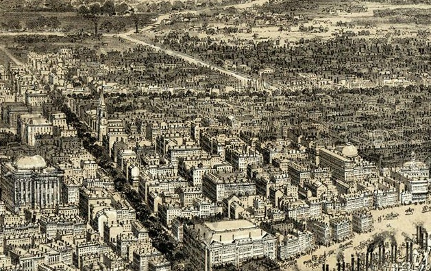 "From ""Bird's-Eye View of New Orleans,"" 1851"