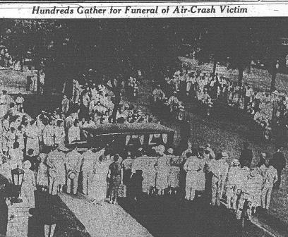 Jimmy Wedell's Funeral Procession in NOLA