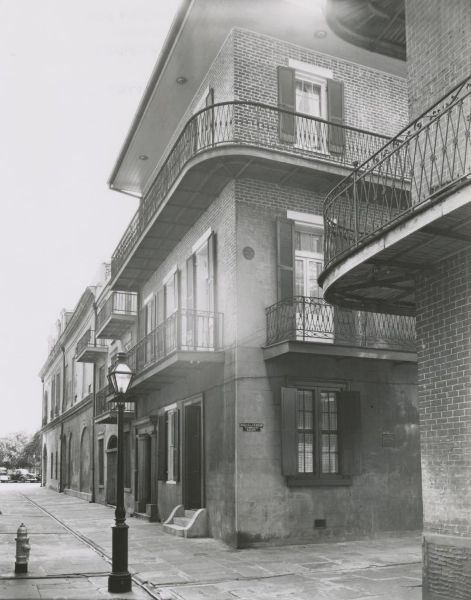 Orleans Alley or Pirate's Alley, 1939