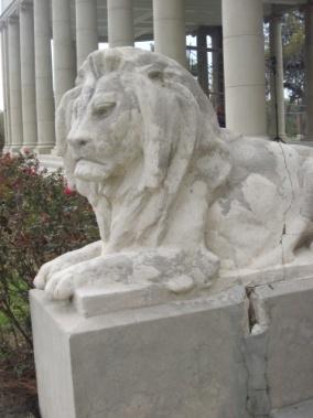 City Park's ubiquitous lions.