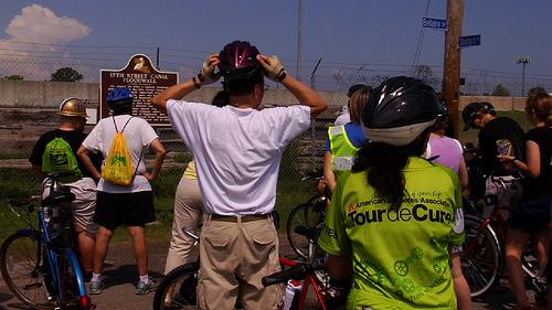 Levee Breach Bike Tour