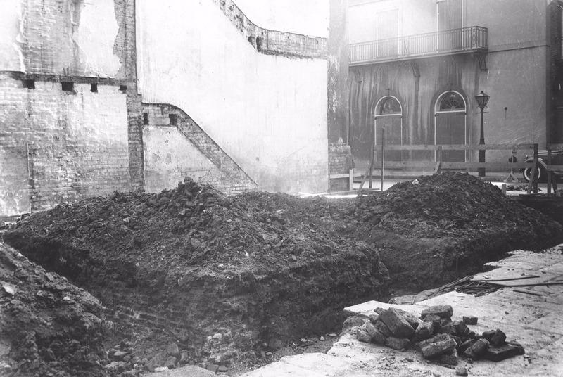 Restoration of Jackson House, 1939